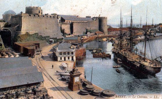 25 avril 1865 le ferroviaire arrive brest page 1 - Surplus militaire brest port de commerce ...